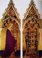Il Polittico Quaratesi - I santi Maria Maddalena e Nicola di Bari