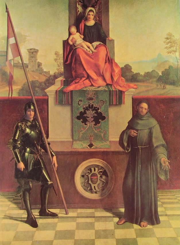 Giorgione:La Pala di Castelfranco