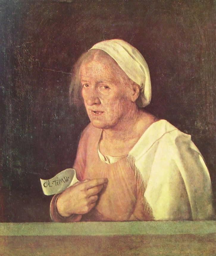 Giorgione: Ritratto di vecchia