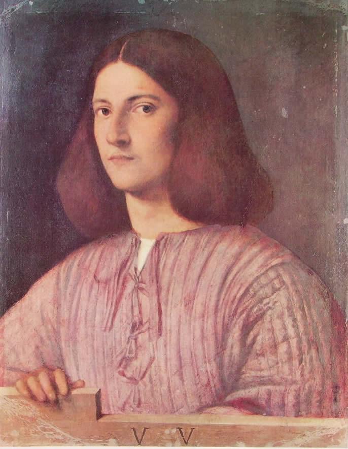 Giorgione: Ritratto di giovane (Giustiniano)