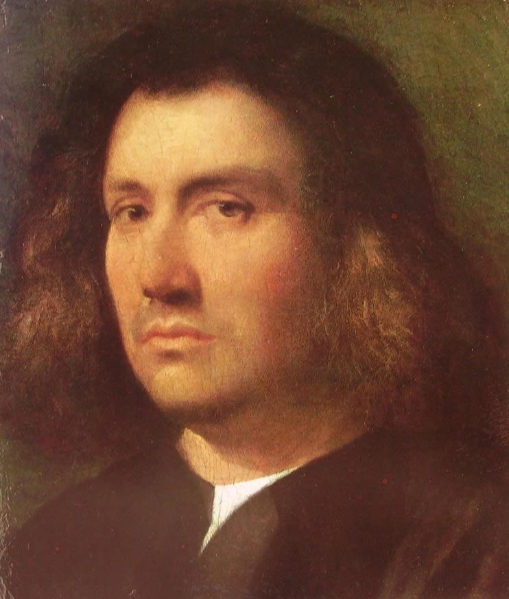 Giorgione: Busto d'uomo, o Ritratto di Terris