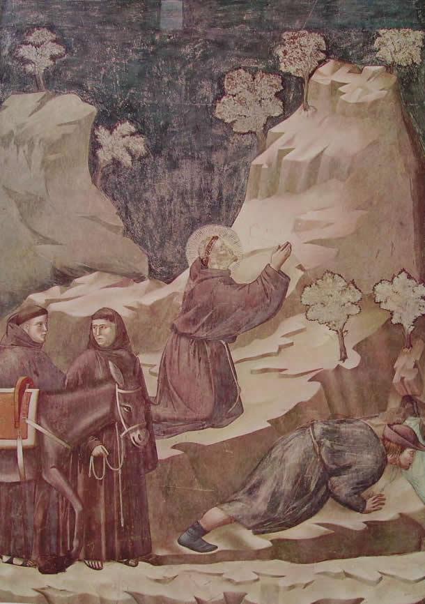 Giotto: Il miracolo della fonte (Assisi)