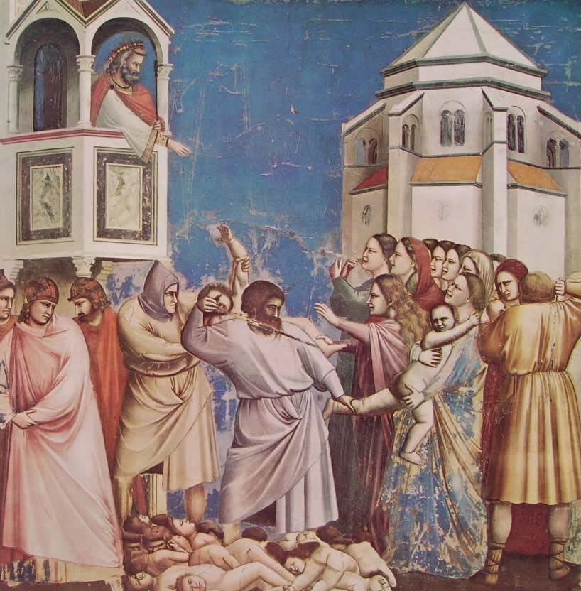 Giotto: La strage degli innocenti (Scrovegni)
