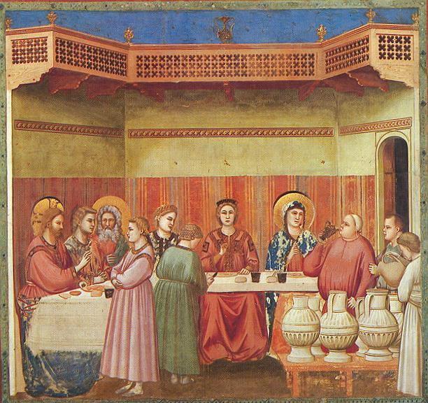 Giotto: Le nozze di Cana (Scrovegni)
