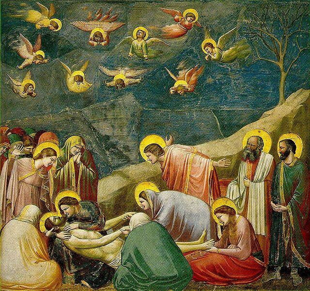 Giotto: Il compianto su Cristo morto (Scrovegni)