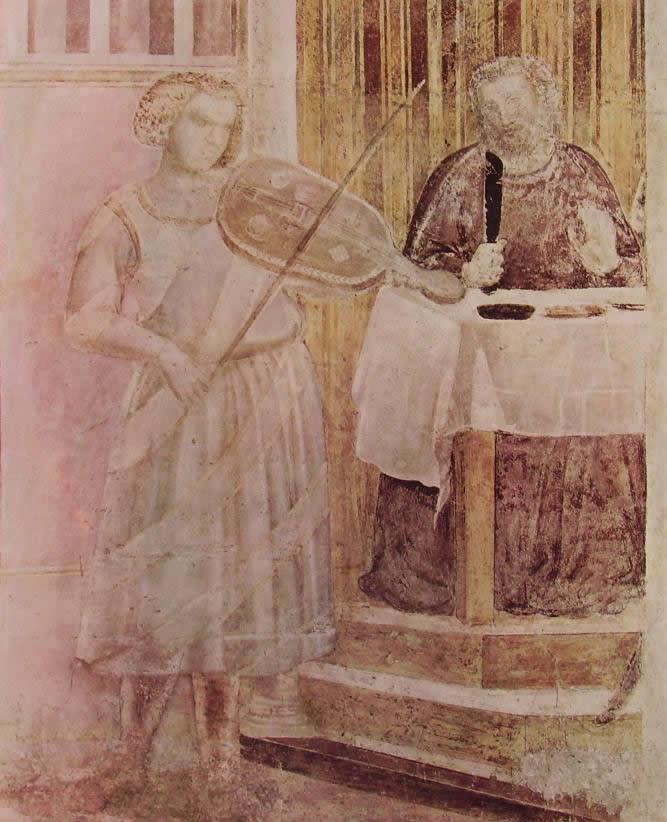 Giotto: Il festino di Erode (Cappella Peruzzi)
