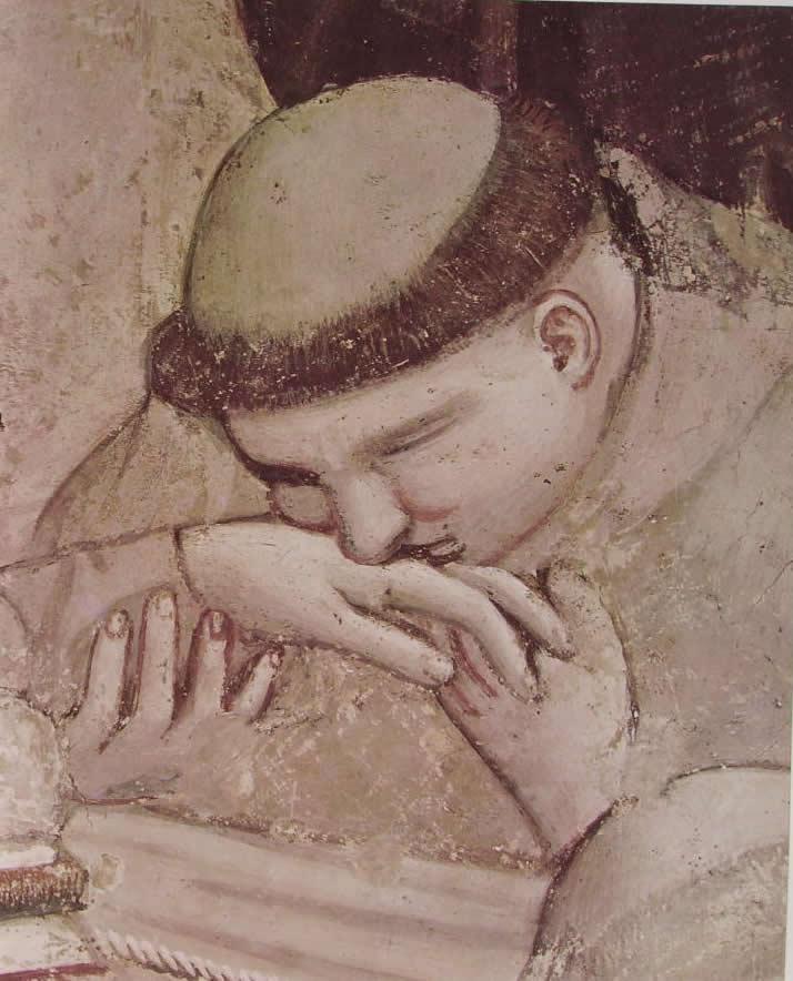 Giotto: Cappella Bardi - L'accertamento delle stimmate