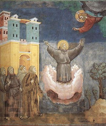 Giotto: L'Estasi di san Francesco