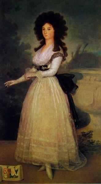 Goya: Ritratto di Tadea Arias de Enriquez