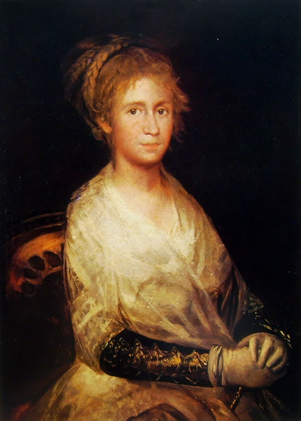 Goya: Ritratto di Josefa Bayeu de Goya