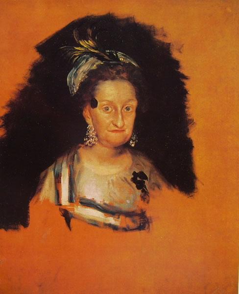 Ritratto dell'infanta Maria Josefa di Francisco Goya