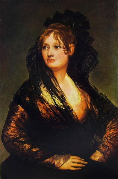 Goya - Ritratto di Isabel de Porcel