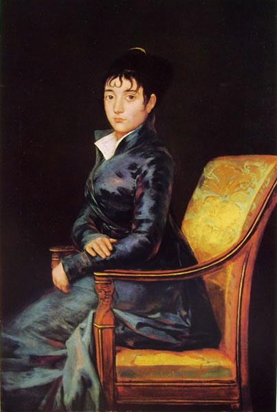 Francisco Goya - Ritratto di Teresa Sureda