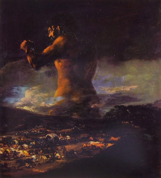 Francisco Goya:Il colosso (Museo del Prado)