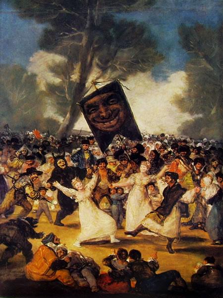 Goya - La sepoltura della sardina