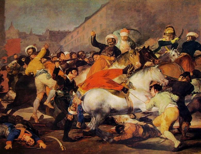 Goya: Il 2 Maggio 1808 - Lotta contro i mammelucchi