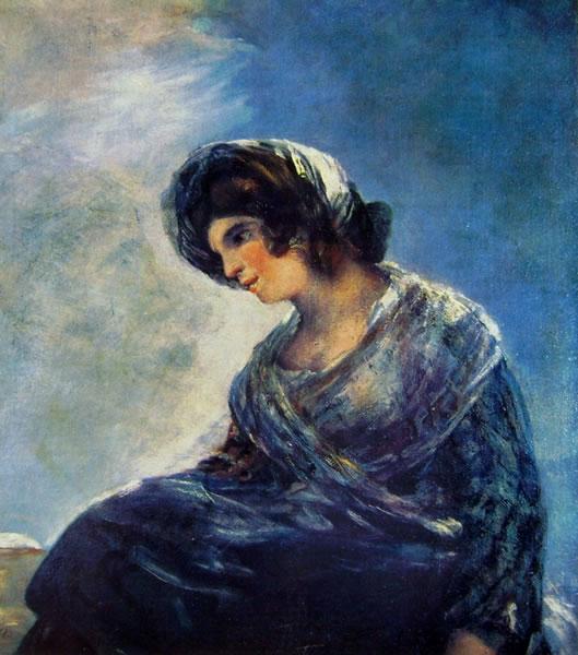 Goya - La lattaia di Bordeaux