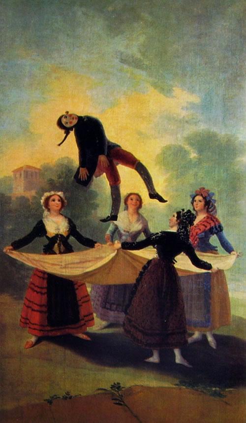 Goya: Cartoni per gli arazzi reali - Il Fantoccio