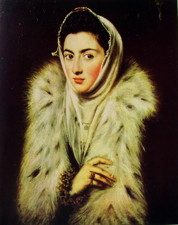 El Greco: La dama dell'Ermellino (Glasgow)