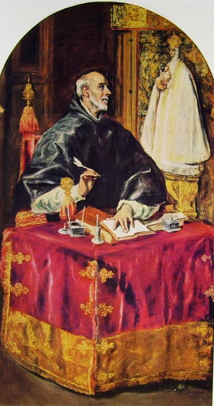 El Greco: Sant'Ildefonzo (Carità ad Illescas in Spagna)