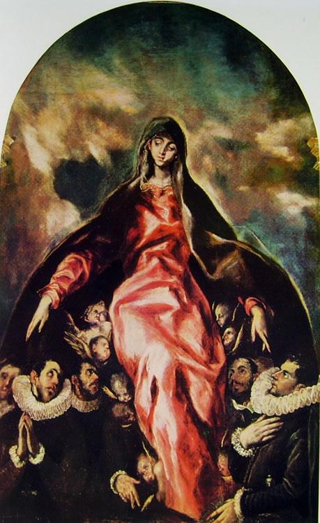 El Greco: Madonna della carità (Illescas)