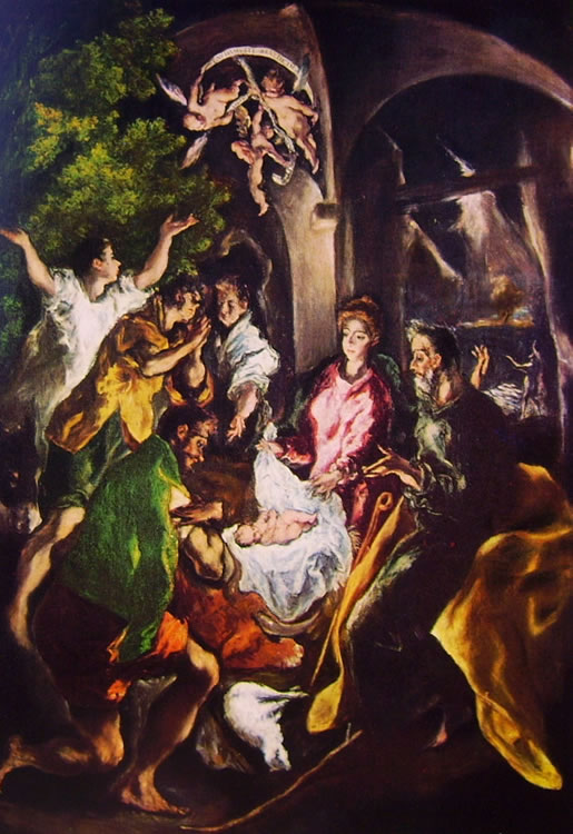 El Greco: Adorazione dei pastori (Metropolitan Museum)