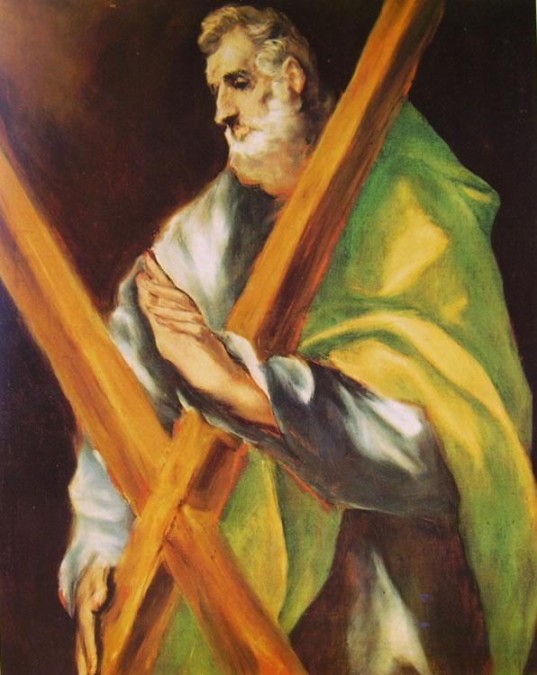 El Greco: Sant'Andrea (Museo del Greco)