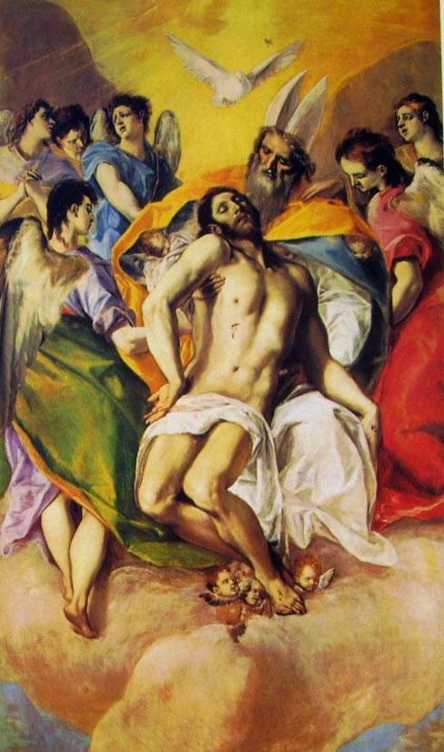 El Greco: La Trinità (Prado)
