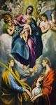 9 greco - madonna col bambino e le sante martina e agnese