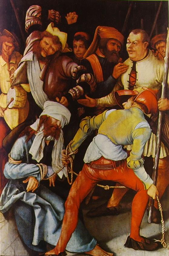 Matthias Grünewald: Cristo deriso