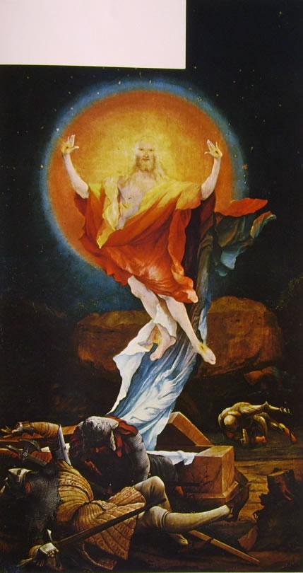 Matthias Grünewald: Altare di Isenheim - La Resurrezione