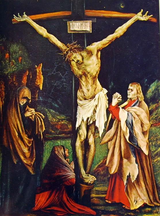 Matthias Grünewald: La piccola crocifissione (Washington)