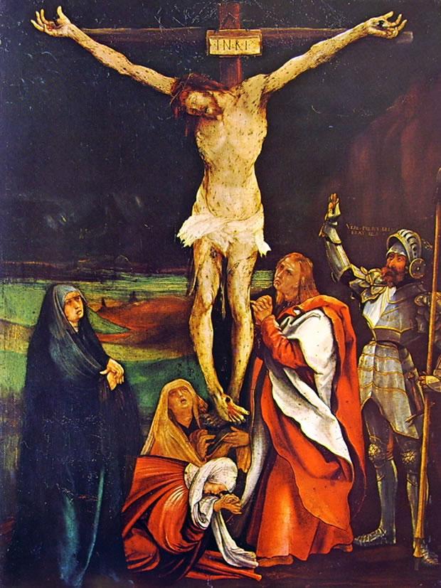 Matthias Grünewald: Crocifissione (Basilea)