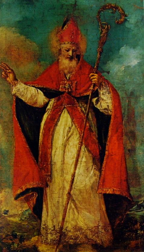 Francesco Guardi: San Nicolò benedicente (Trieste)