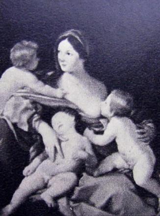 La Carità, cm 137 x 108, Collezione Mr. and Mrs. Ch. Wrightsman, New York