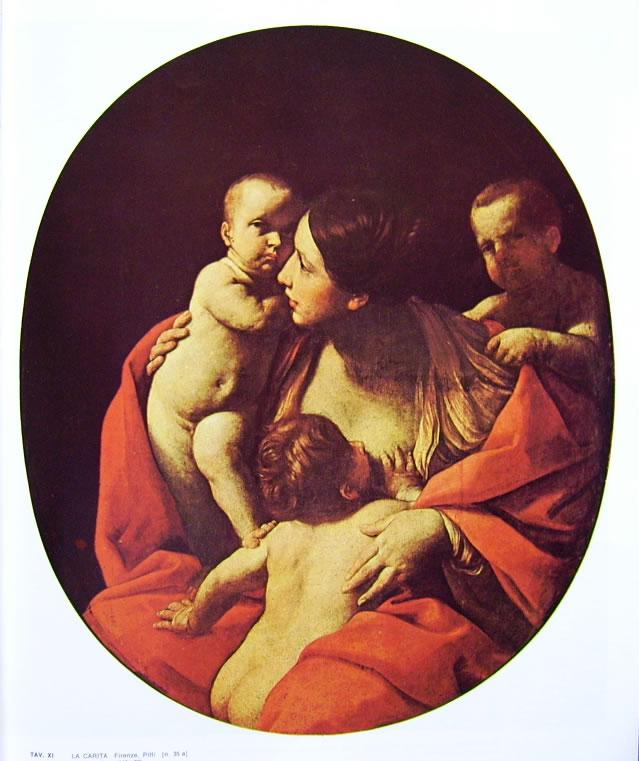 Guido Reni: La Carità (palazzo Pitti)