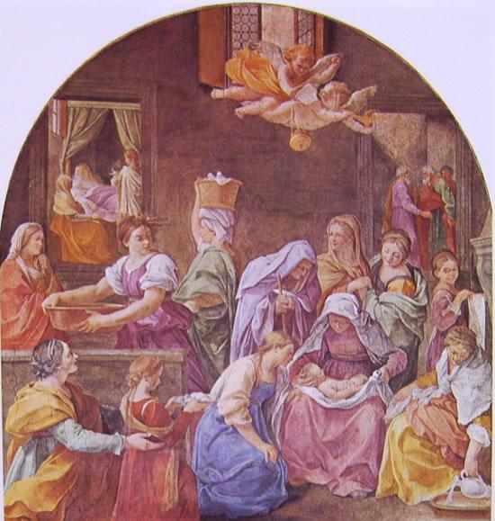 Dipinti nel palazzo del Quirinale: La nascita della Vergine (Quirinale)