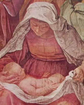 La nascita della Vergine -particolare 2