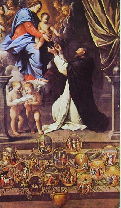 La Madonna del Rosario (Basilica di San Luca) di Guido Reni