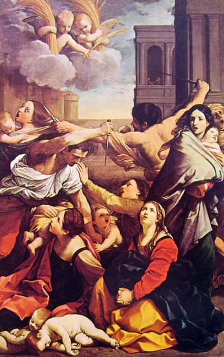 Guido Reni: La strage degli innocenti (Bologna)