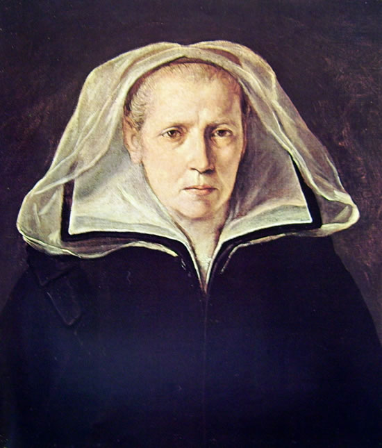 Ritratto della madre di Guido Reni