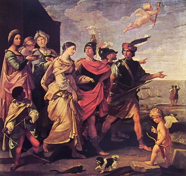 Il ratto di Elena (Louvre) di Guido Reni