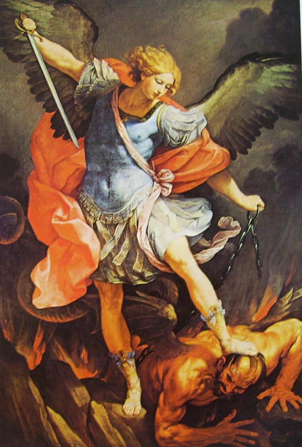 Risultati immagini per Arcangelo Michele di guido reni