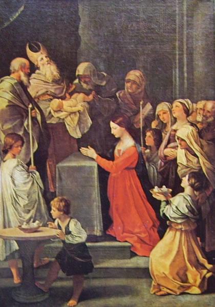 La purificazione della vergine (Louvre) di Guido Reni