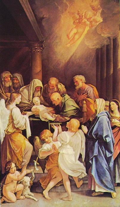 La circoncisione (Chiesa di San Martino a Siena) di Guido Reni