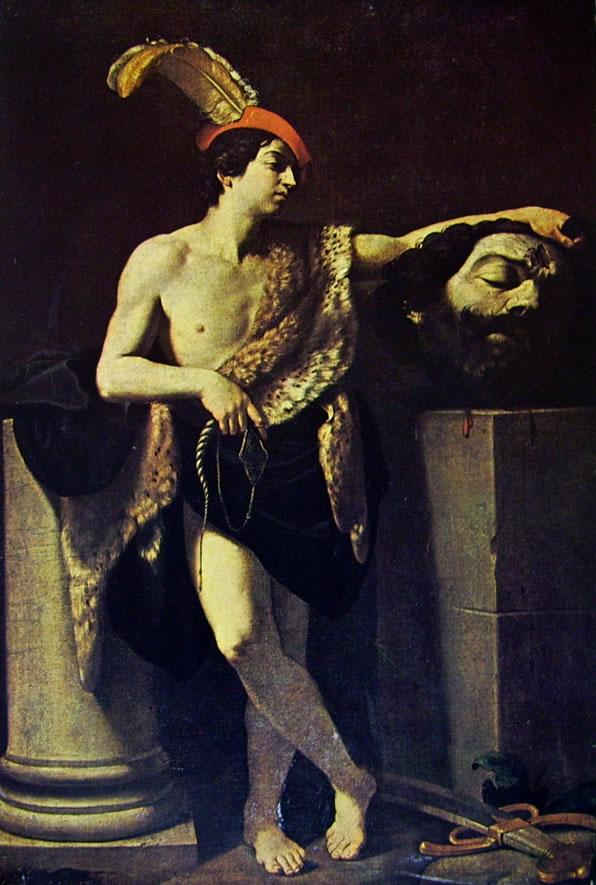 Guido Reni: Davide con la testa di Golia (Louvre)