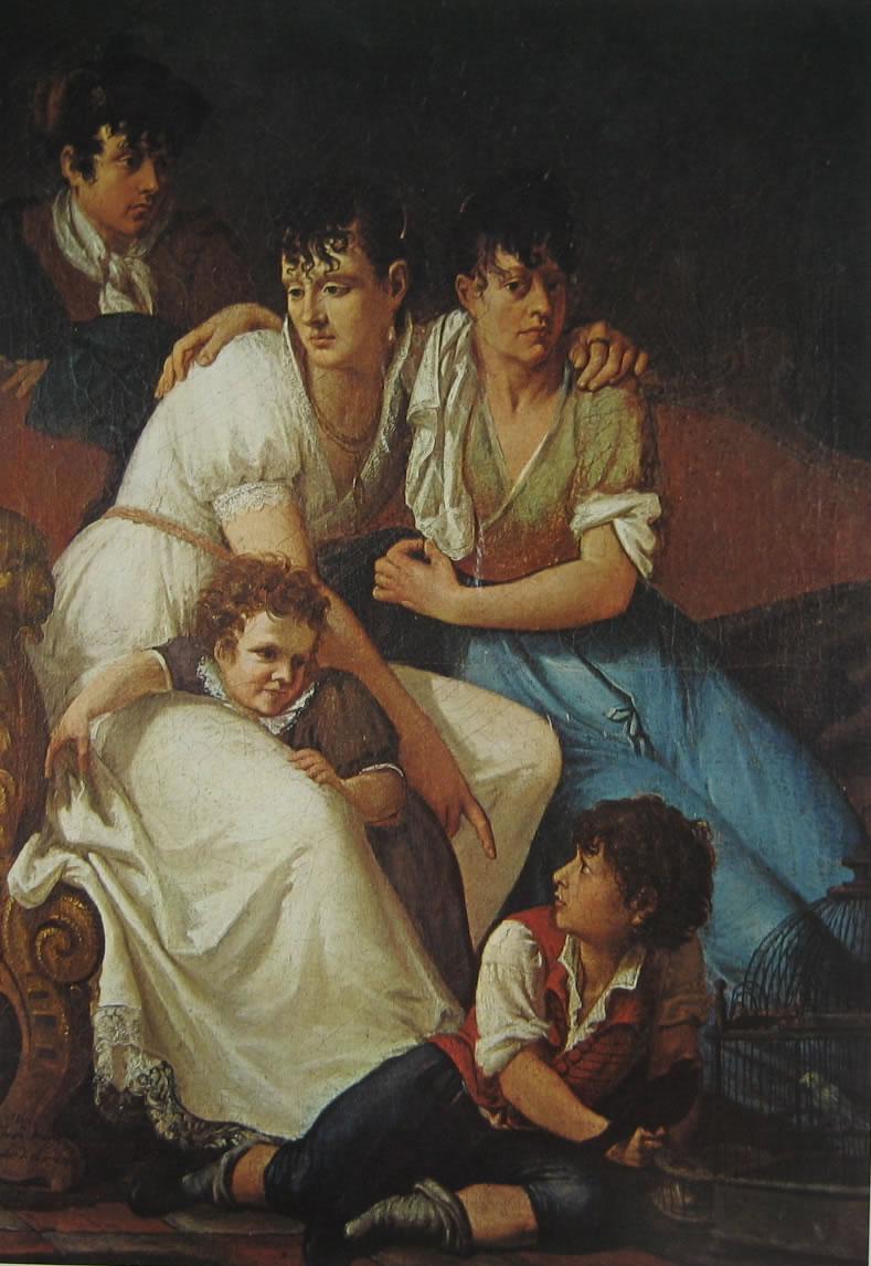 Hayez: Gruppo di famiglia (Treviso)