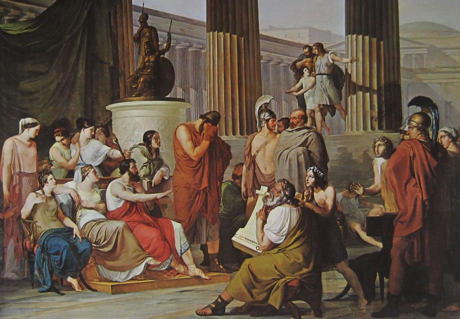 Ulisse alla corte di Alcinoo