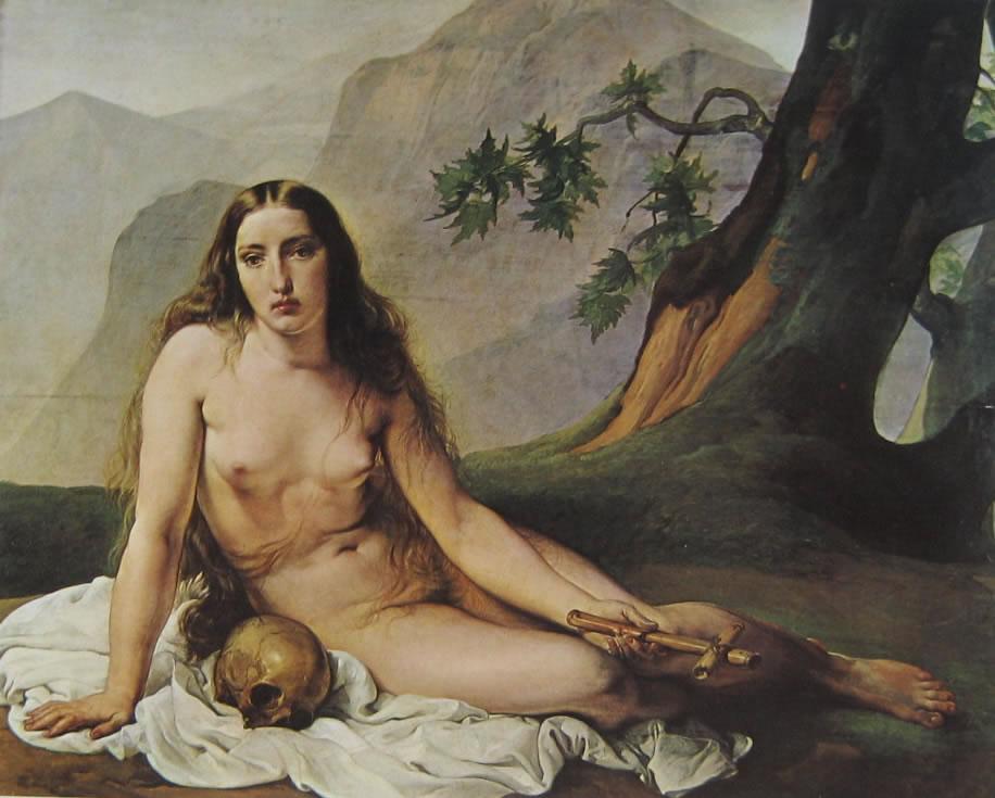Hayez: Maddalena penitente (Milano)
