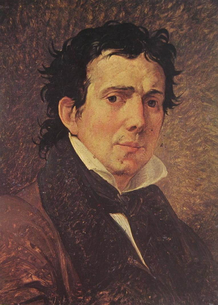Ritratto di Pompeo Marchesi di Francesco Hayez